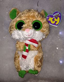 TY Beanie Boos - CANDY CANE the Hamster (Solid Eye Color) (6 inch) .HN#GG_634T6344 G134548TY98913