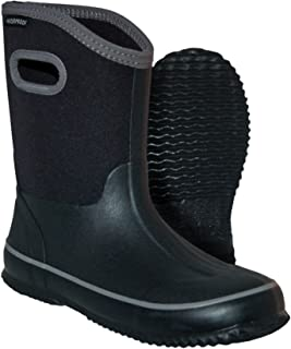 Itasca Kids' Youth Bayou Rubber/Neoprene Waterproof Rain Boot