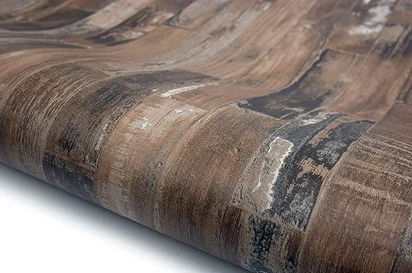 Wood Panel Interior Film Vinyl Self Adhesive Peel Stick Removable HBS466