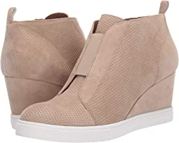 Sand Perforated Kid Suede