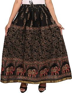 Generic Women'S Black Skirts(Jiskrt-69_Black_42W X 40L)