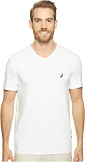 Sponsored Ad - Nautica Men's Short Sleeve Solid Slim Fit V-Neck T-Shirt
