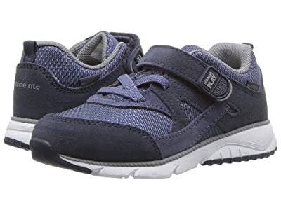 Stride Rite M2P Ace (Toddler) (Navy) Boys Shoes