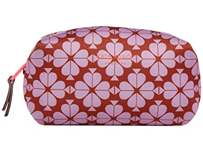 Kate Spade New York Spade Flower Neoprene Medium Cosmetic (Frozen Lilac/Multi) Handbags