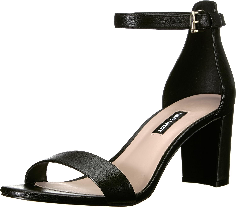 Nine Many popular Outlet sale feature brands West Women's Sandal Pruce Heeled