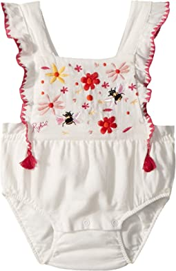 Sonia Rykiel Kids - Anemone Floral Embroidered Romper (Infant)