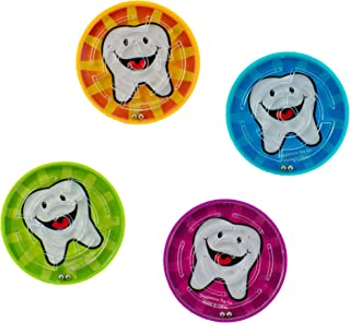 Giggle Time Dental Puzzle Game - (36) Pieces - Assorted Colors - for Kids, Boys and Girls, Party Favors, Pinata Stuffers, ...