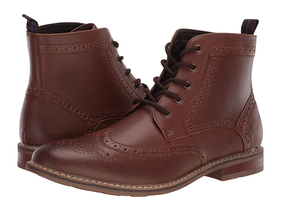 Nunn Bush Parker Wing Tip Chukka Boot (Cognac) Men