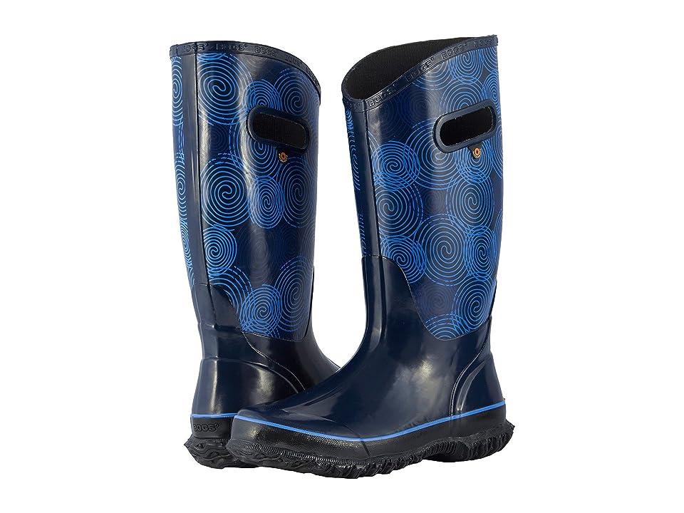 Bogs Rainboot Rings (Dark Blue Multi) Women