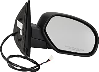 Dorman 955-1481 Passenger Side Power Door Mirror - Heated/Folding for Select Cadillac/Chevrolet/GMC Models, Black