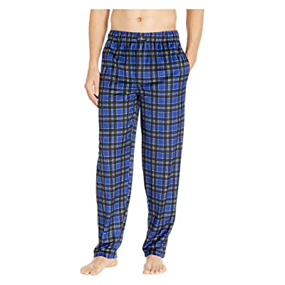 Jockey Silky Fleece Pants (Blue) Men