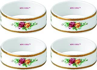 Royal Albert Old Country Roses Napkin Ring (Set of 4), 2.2