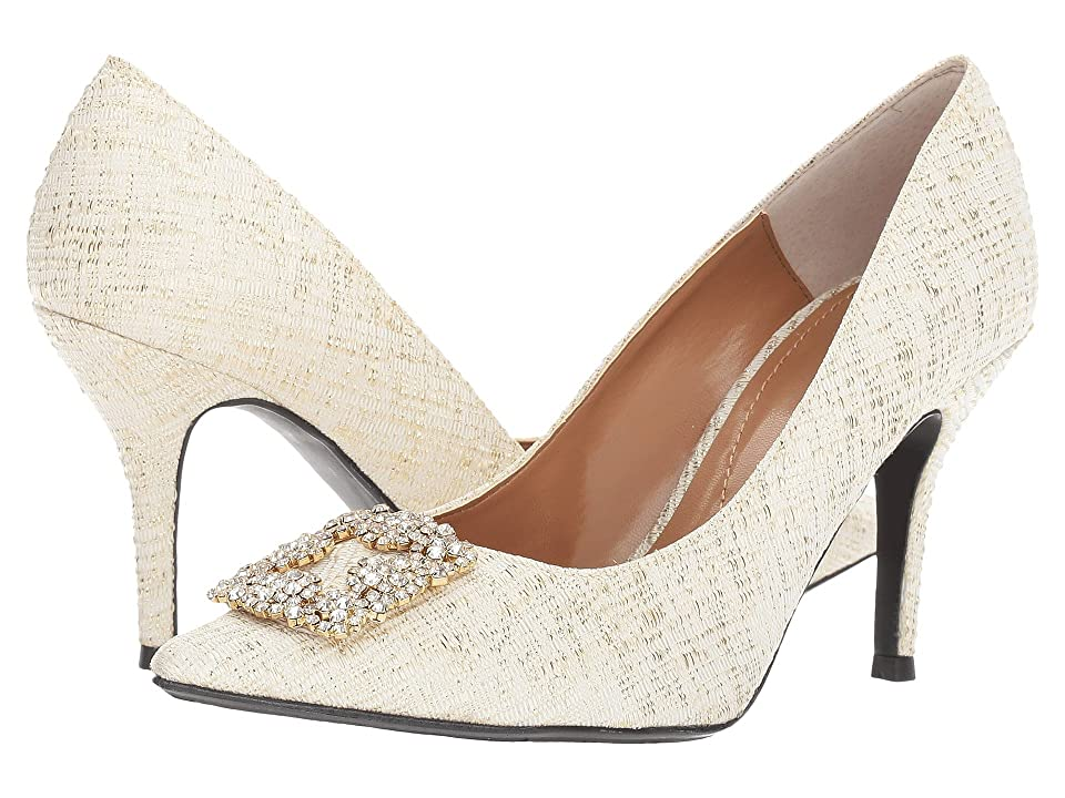 J. Renee Bilboa (Beige/Gold) Women