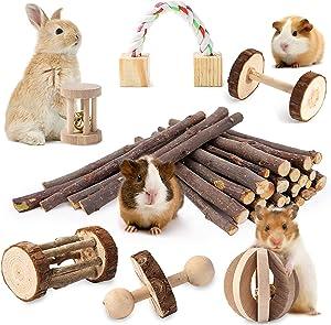 JanYoo Toys For Bird Rabbits Hamster Gerbil