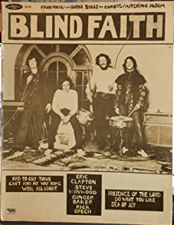 Blind Faith Piano/Vocal with Guitar Solos and Combos/Matching Album