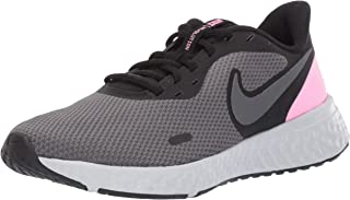 Nike Revolution 5, Women's Road Running Shoes, Black (Black/Psychic Pink-Dark Grey), 6.5 UK (40.5 EU)