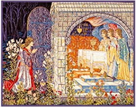 Orenco Originals Quest Holy Grail Tapestries Detail William Morris Counted Cross Stitch Pattern