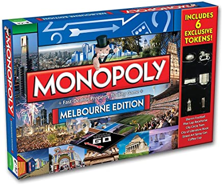 Monopoly Melbourne Monopoly Board Game