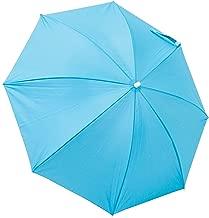 Rio Brands Beach Clamp-On Umbrella - Turquoise