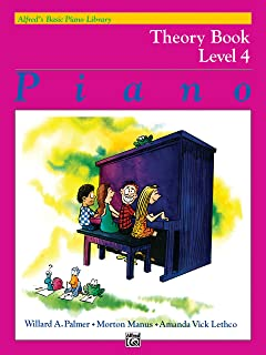 Alfred'S Basic Piano Library Theory 4