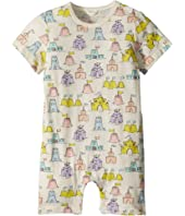 Stella McCartney Kids - Kit Sandcastle Printed All-In-One (Infant)