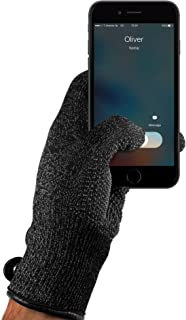 Mujjo Single or Double Layered Touchscreen Winter Gloves | All-Hand & Finger Smartphone Texting, Anti-Slip Grip | Leather Cuffs, Magnetic Snap Closure