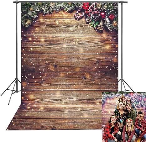 Daniu Weihnachtsfotografie Hintergrund Schneeflocke Kamera