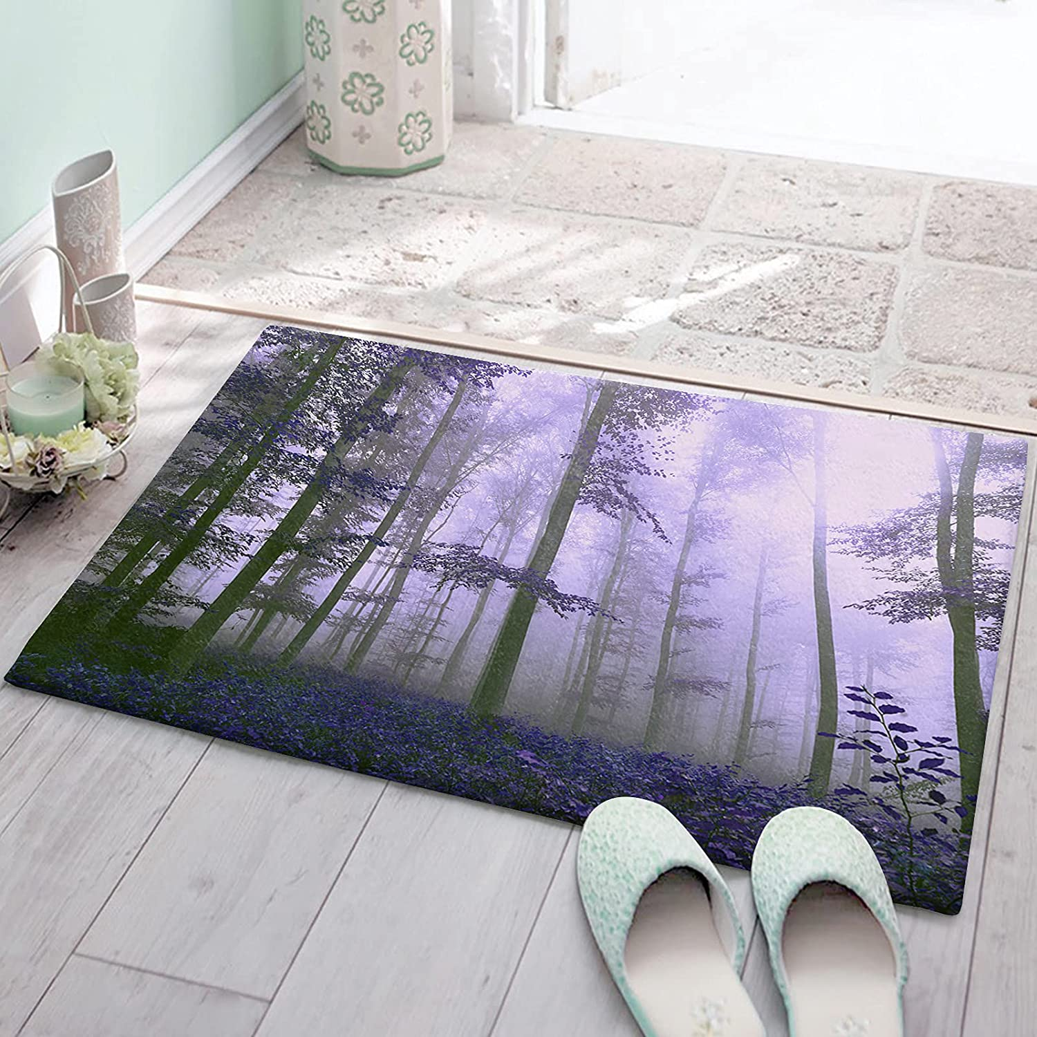 CyCoShower Bath Rugs Anti-Slip Mats Soft At the price Carpets Plush Excellence Autu