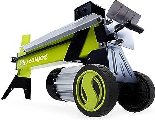 Sun Joe LJ602E 5-Ton 15-Amp Electric Log Splitter w/Hydraulic Ram, Green
