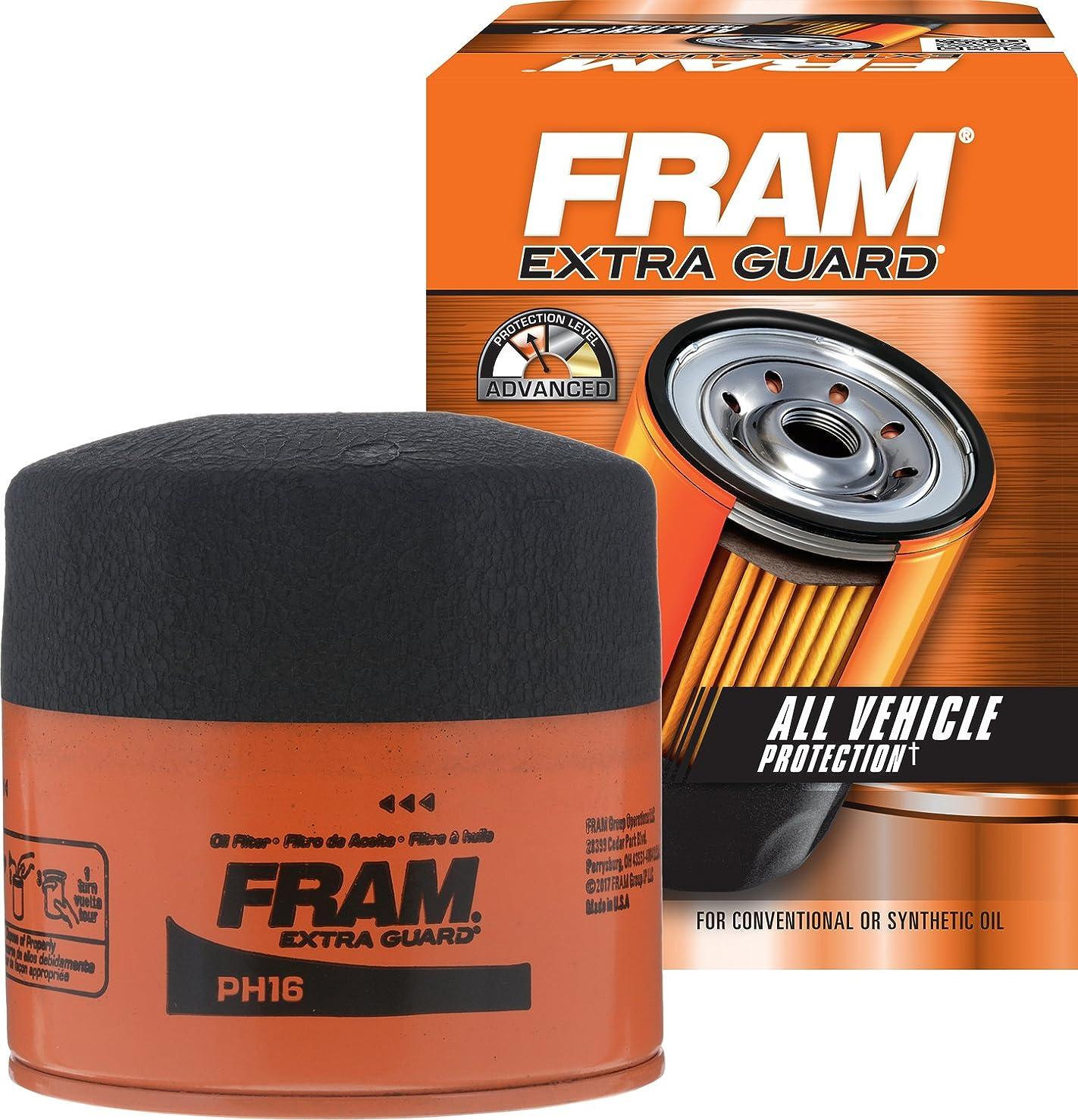 FRAM PH16 Extra Guard Passenger Car Spin-On Oil Filter