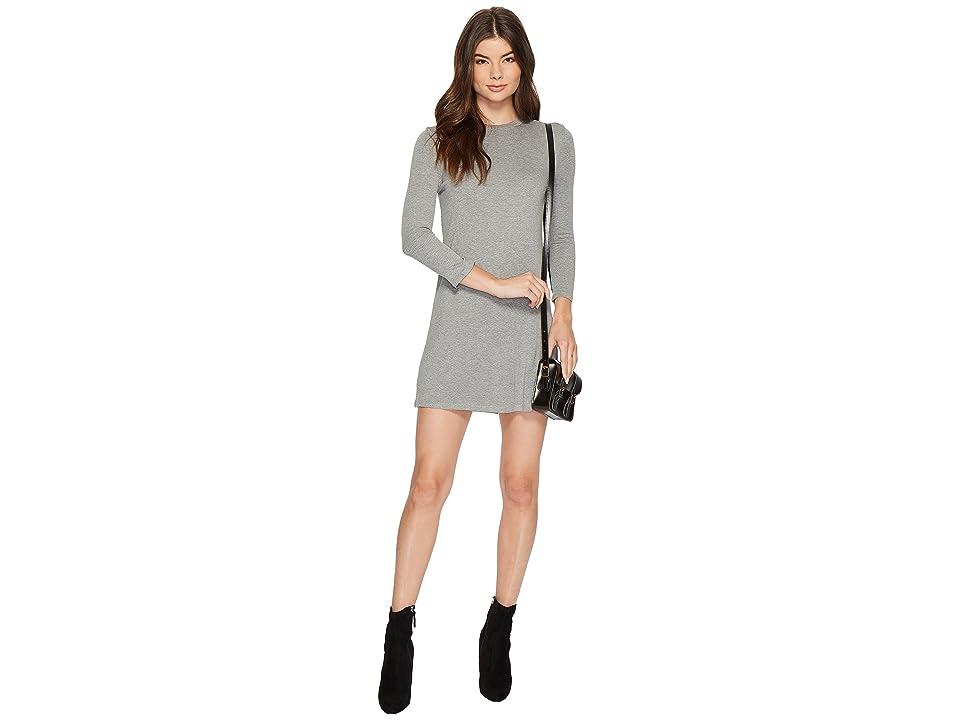 Amuse Society Cool Horizons Dress (Heather Grey) Women