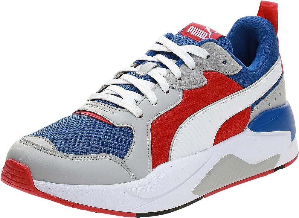 Puma x-ray scarpe sneakers da ginnastica uomo in pelle sintetica e tessuto 3726021