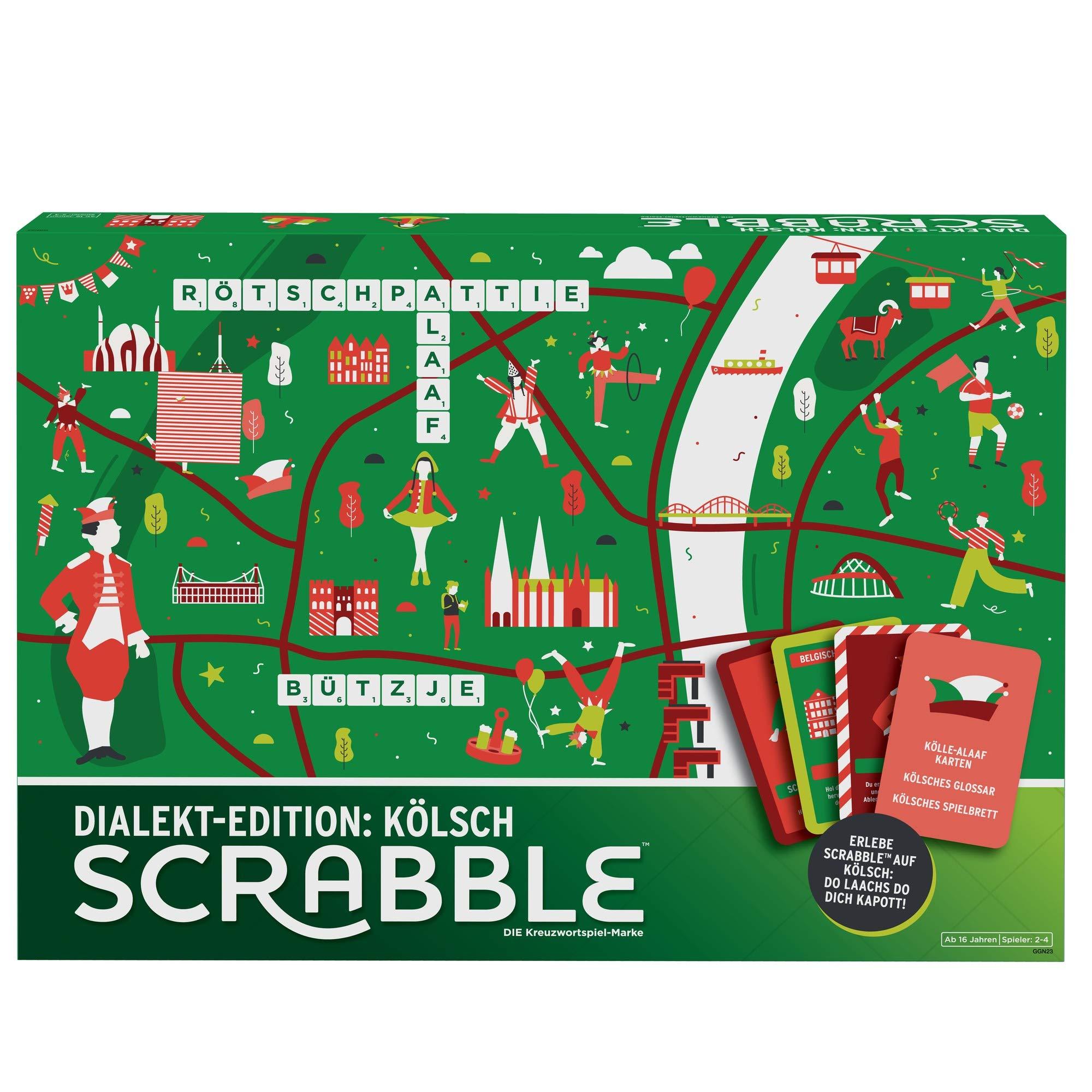 Mattel Games- Scrabble Dialekt Edition: Kölsh (GGN23): Amazon.es: Juguetes y juegos