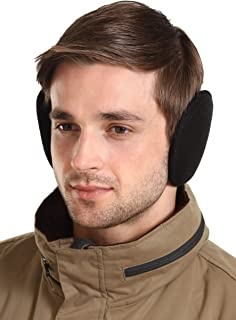 ear muffs around back of head