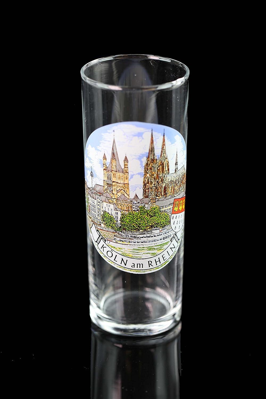 Kansas City Mall Vintage Koln Am Rhein Glass Fees free!! Souvenir Germany