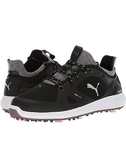 푸마 남성 골프화 PUMA Golf Ignite Power Adapt,Puma Black/Puma Black