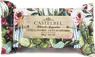 Castelbel Cactus & Cucumber Soap Portugese, Imported Scented and Beautifully Gift Wrapped 10.5 Oz