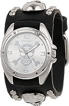 Nemesis Men's MSK906S Cross Bone Skull Watch