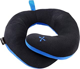 BCOZZY Chin Supporting Patented Travel Pillow - Prevents The Head from Falling Forward in Any Sitting Position, Providing Comfort and Support for The Neck and Head. Adult Size (Black)
