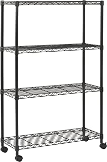 Sandusky MWS361454 Mobile Commercial Wire Shelving, 54