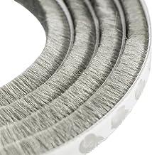 20, 6,7 x 25mm B/ürstendichtung Meterware mit Nut von 5mm bis 25mm f/ür Fliegengitter Dichtung Fenster T/üren Insektenschutz Rolladen Roll/äden mit Nut