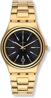 Swatch Women's YLG405G Last Run Year-Round Analog Quartz Gold Watch