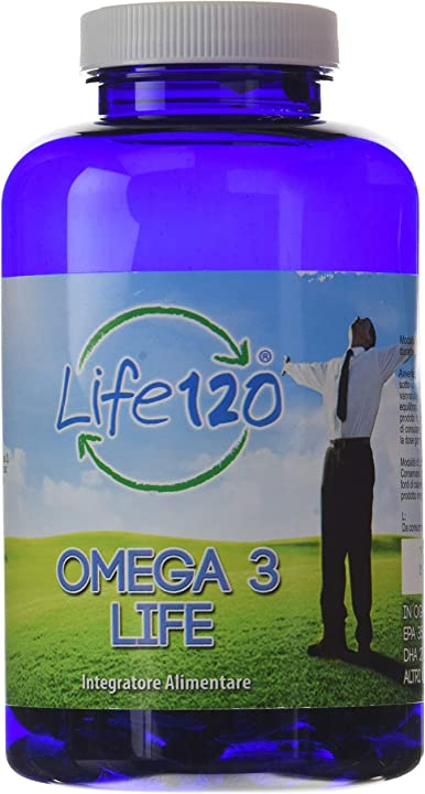 Omega 3 150 capsule gel cdi life 120 | olio di pesce  1000 mg, prodotto italiano acidi grassi omega 3 8.06803E+11