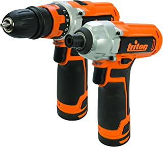 Triton T12TP Twin Pack with T12DD Drill and T12ID Impact Driver