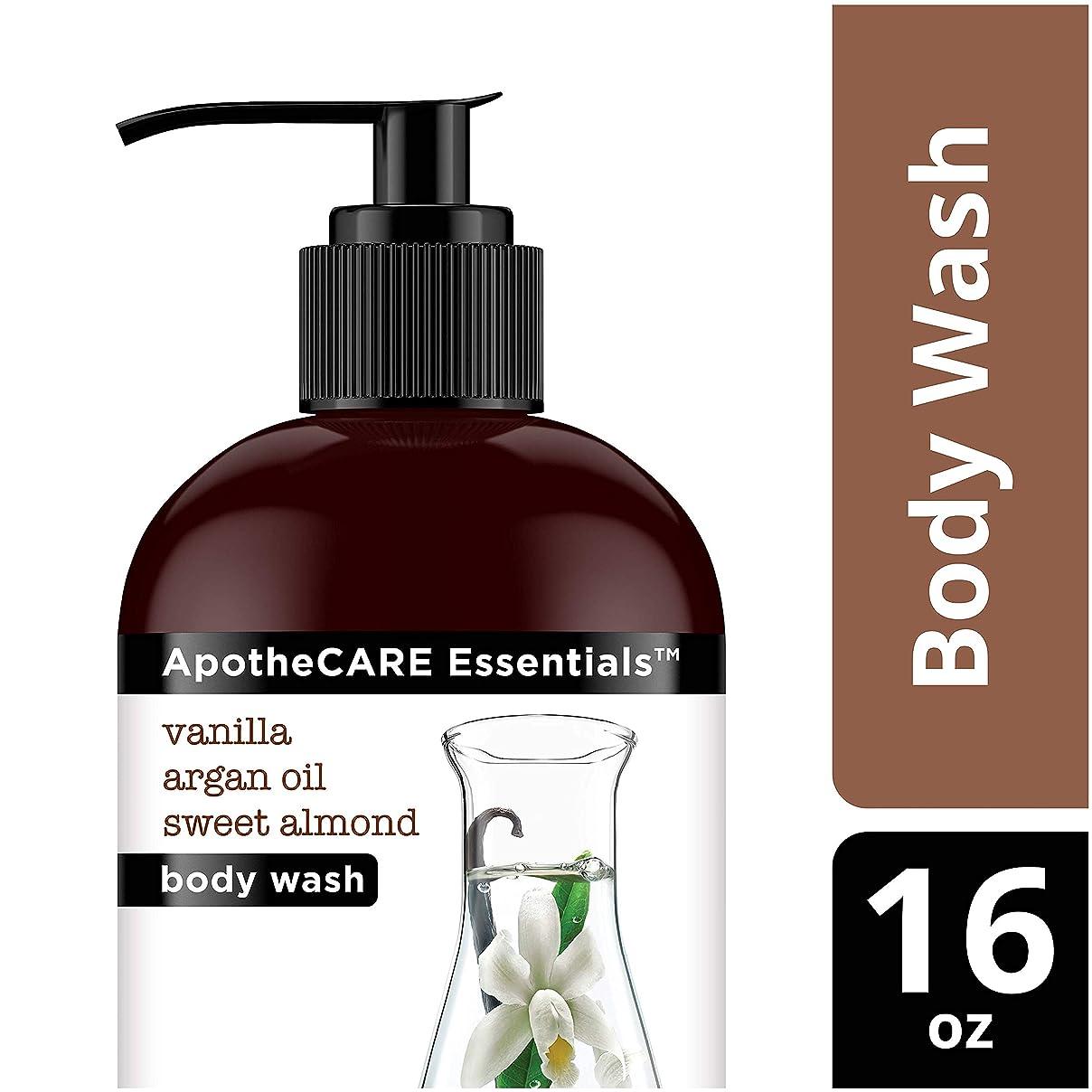 いらいらする命令不和Body Wash, Vanilla, Argan Oil, Sweet Almond, 16 oz 473 ml