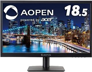 【Acer Direct限定】AOPEN モニター 19CX1Qb 18.5インチ 75Hz 5ms TN スピーカー無し VESA ディスプレイ 3年保証