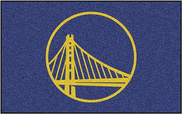 Fanmats Nba Golden State Warriors Nylon Teppich Team Color 60 X96 Auto