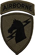 1st Special Operations Command w/Airborne Tab Patch Subdued