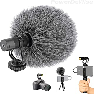 Sponsored Ad - Video Microphone - Unidirectional On-Camera Microphone for DSLR Cameras and Phones - Directional Cardioid i...