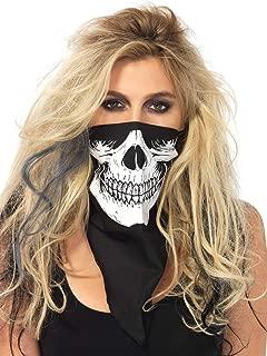 Leg Avenue Women's Skull Halloween Bandana Costume Accessory